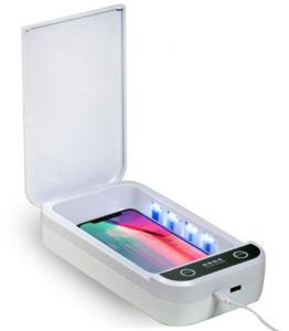 Dezinfectant/sterilizator UV pentru telefon